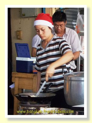 Christmas Day in Bangkok
