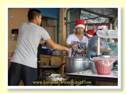 Christmas Day in Bangkok is the time to wear a Santa hat