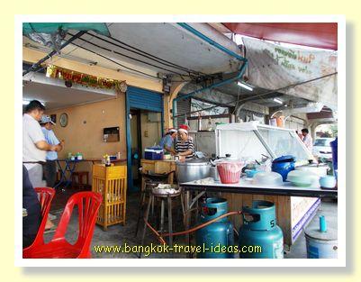 Thai noodle shop