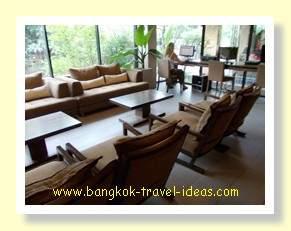 Internet area at the Cottage Suvarnabhumi Airport hotel