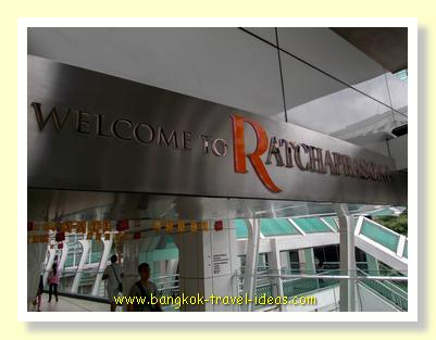 Welcome to Ratchaprasong skywalk