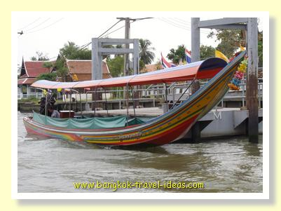 Chaophrya river boat for tourists rental