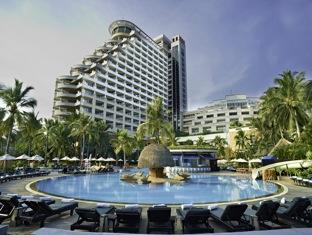 Swim in the contoured pool a the Hua Hin Hilton