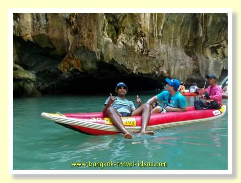 Canoes near Phuket