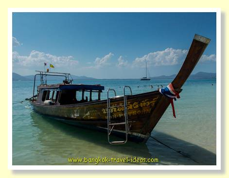 Thai fishing boat near Phuket
