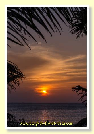 Sunset at Karon Beach, Phuket