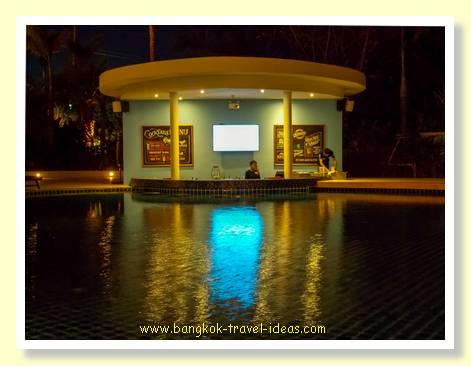 Pool bar at the Novotel Phuket Karon Beach