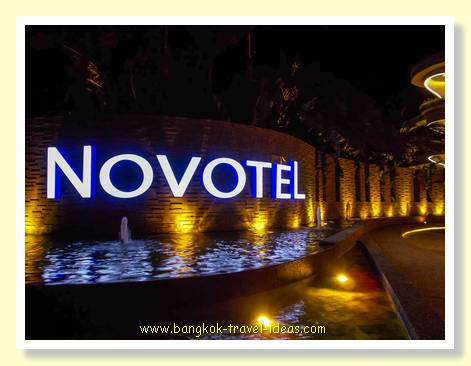 Entrance to the Novotel Phuket Karon Beach