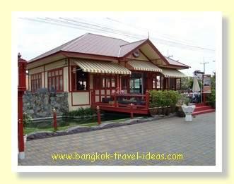Hua Hin Railway station from the street