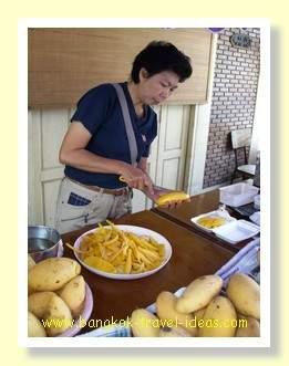 Hua Hin food seller