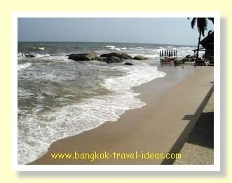 Hua Hin beach, one of the best Bangkok beaches around