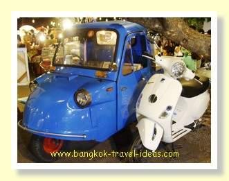 Cars at the Cicada Market