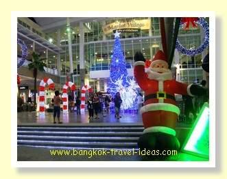Christmas at the Hua Hin Market Village shopping mall