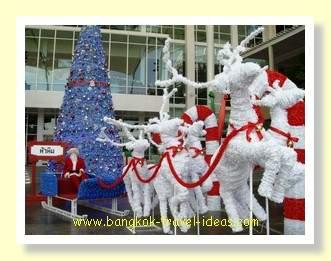 Hua Hin Market Village Christmas decorations
