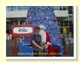 Santa Claus at Hua Hin Market Village