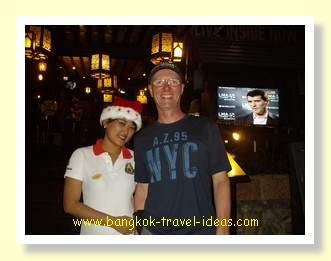 Hua Hin Santa's helper