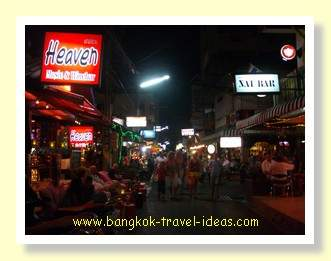 Beer bar soi in Hua Hin