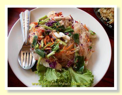 Yam Boon Sen, a very spicy Thai dish