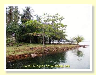 Shantaa Resort shoreline on Koh Kood
