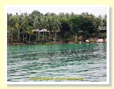 Shoreline at Koh Kood