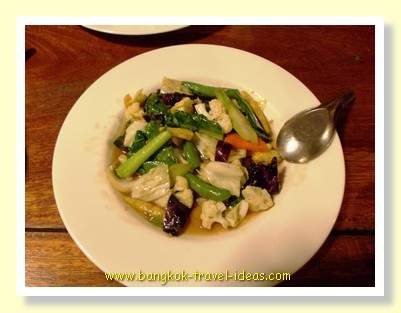 Koh Kood stir fried vegetables