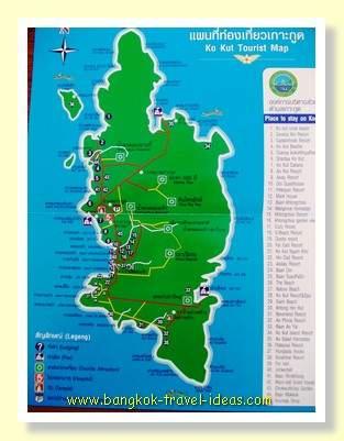 Koh Kood map
