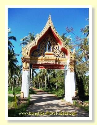 Buddhist temple on Koh Kood