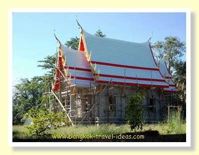 Koh Kood temple under construction