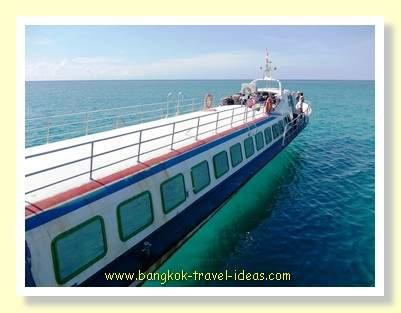 Koh Kood express boat to Laem Sok