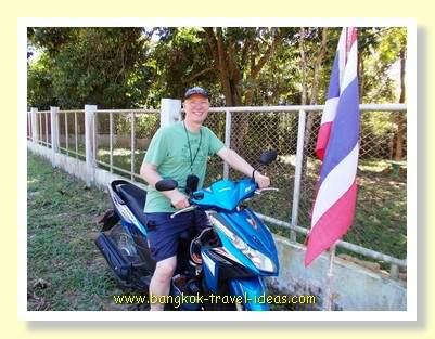 Koh Kood motorbike rider