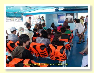 Ferry to Koh Samet
