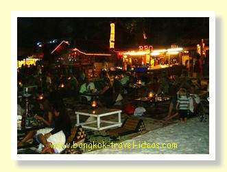 Ploy Talay evening dining on Had Sai Kaew