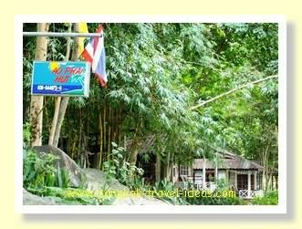 Ao Phai hut on Koh Samet