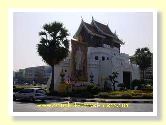 Walls of Korat with the fortress on the moat