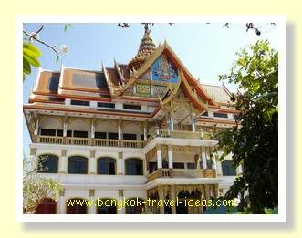 Buddhist temple in Korat Thailand