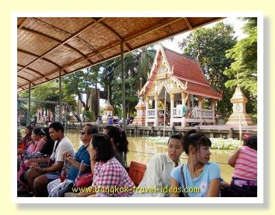 Kwan Riam Floating Market in Bangkok