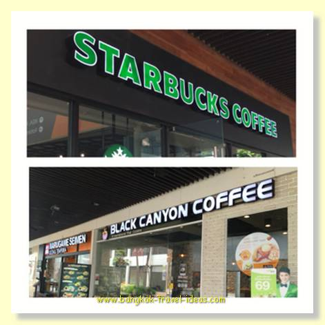 Mega Bang Na shopping mall has the coffee you enjoy