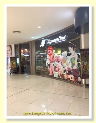 Get a Thai massage at Mega Bang Na shopping mall