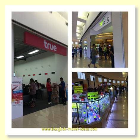 Mega Bang Na shopping mall to pay your phone bill