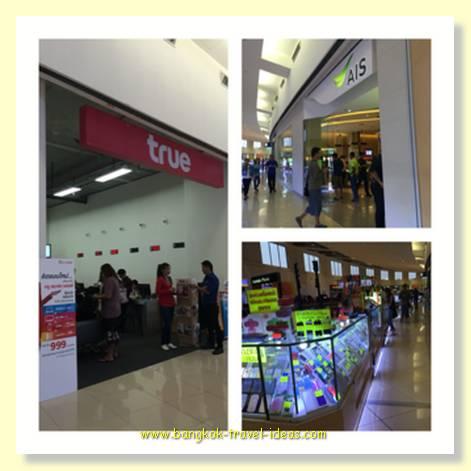 Mega Bang Na shopping mall to pay your phone bill