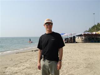 Pattaya beach has quiet areas as well