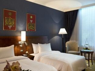 Comfortable rooms at the Novotel Bangkok Airport Hotel