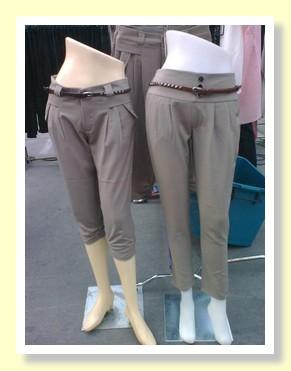 Stylish trousers at the Paseo Shopping Mall Bangkok