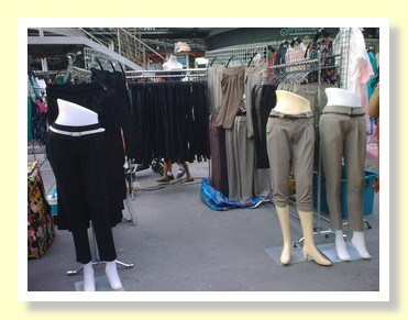 Fashion trousers at Paseo Mall Bangkok