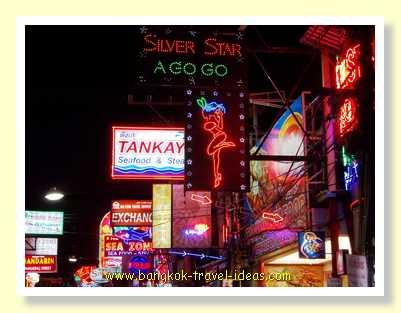 Silver Star A Go Go nightclub in Walking Street Pattaya