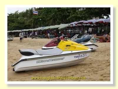 Jet ski rental at Bangkok beach