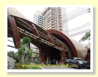 Entrance to the Centara Grand Mirage Beach Resort at Wong Amat Beach, Pattaya