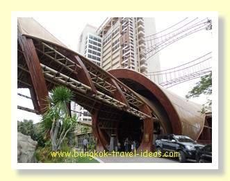 Entrance to the Centara Grand Mirage Beach Resort at Wong Amat Beach, Pattaya