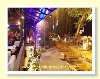 Pattaya thunderstorm on Wong Amat beach