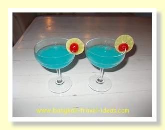 Pattaya cocktails on the beach